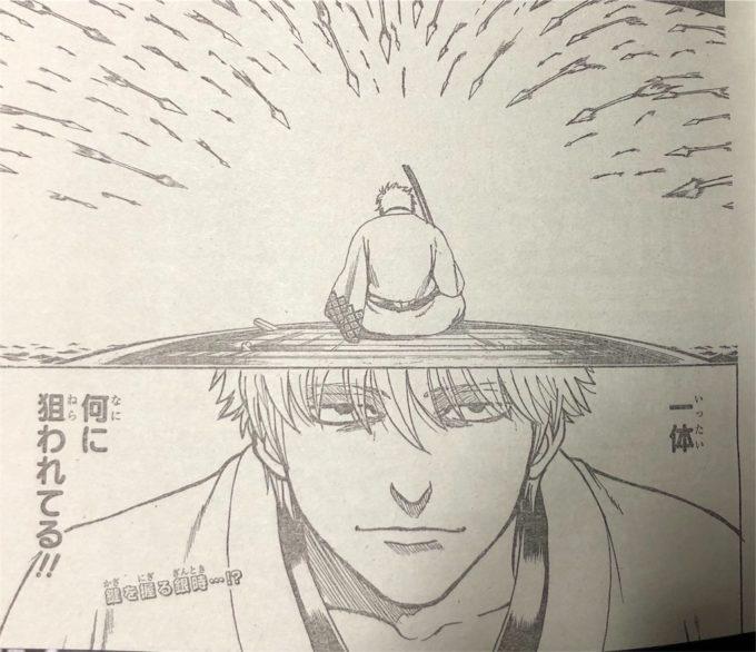 【銀魂】最新676話ネタバレ・感想!銀時を狙う刺客の正体は?