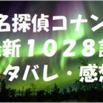名探偵コナン最新1028話ネタバレ・感想!