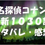 名探偵コナン最新1030話ネタバレ・感想!